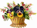 basket_of_wild_flower_clipart