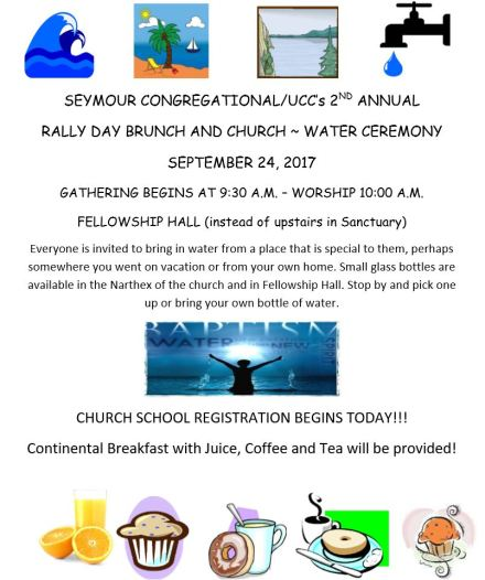 rally day flyer