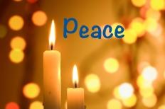 PEACE CANDLE